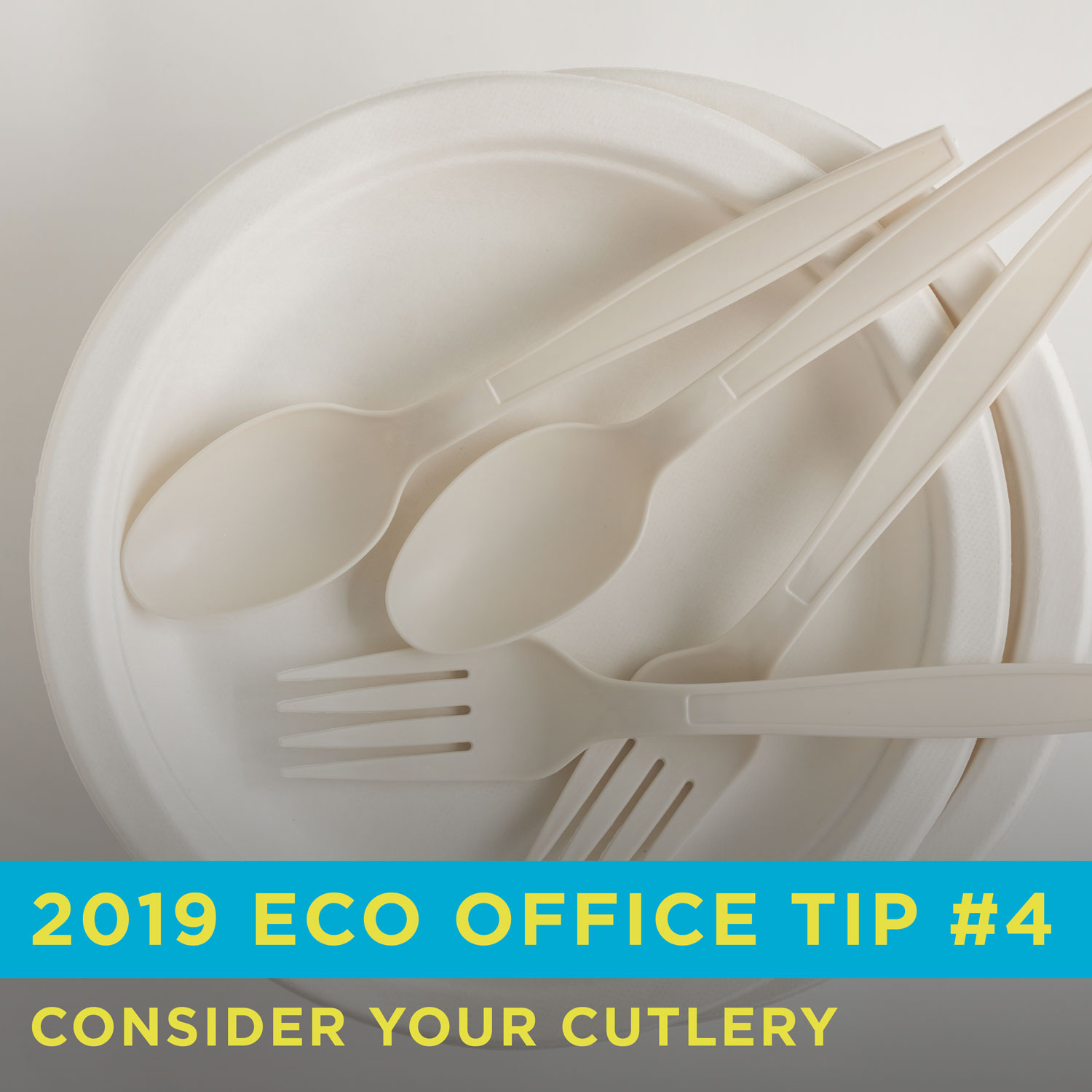 Eco Friendly Office Tip 4: Consider Your Cutlery
