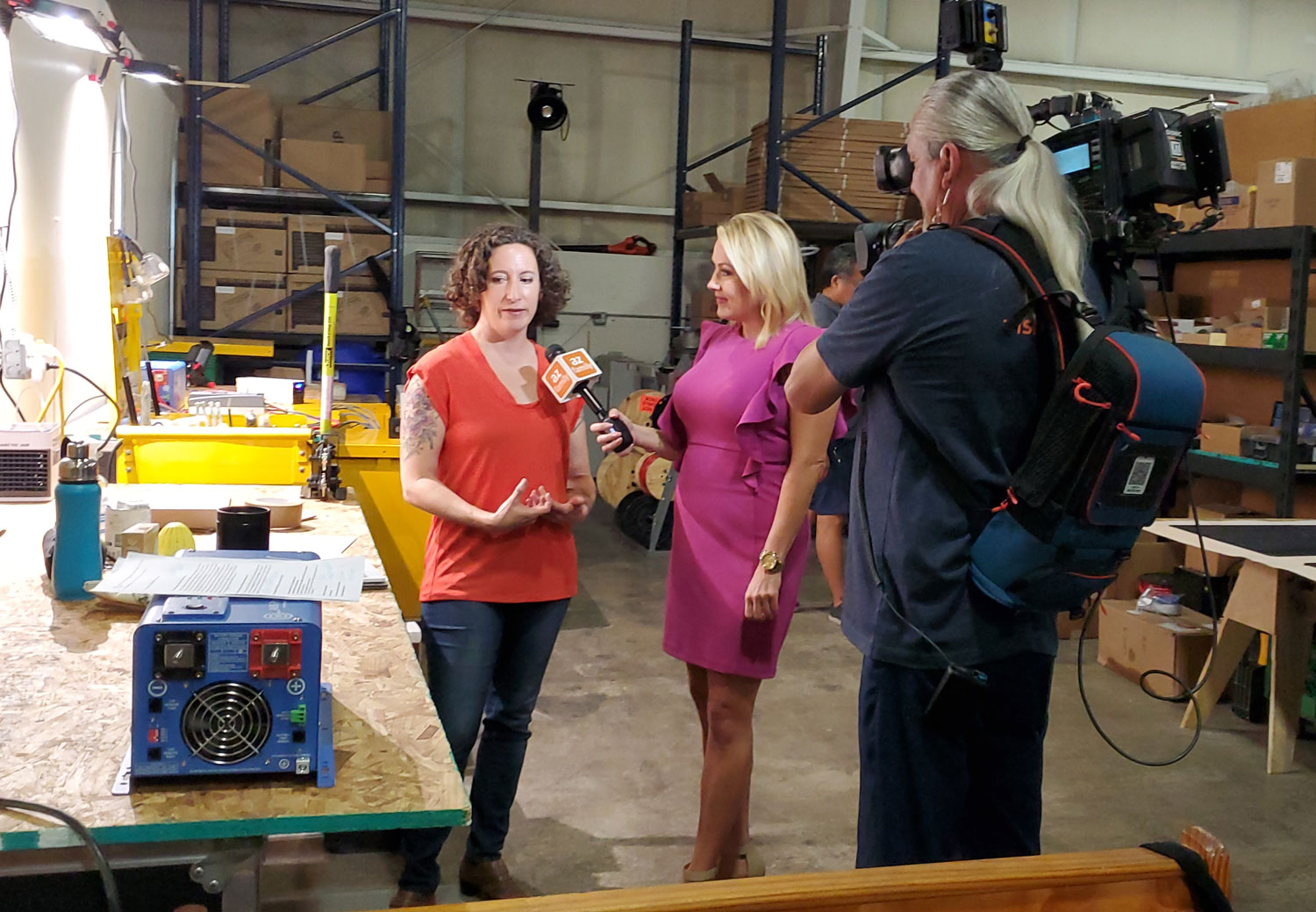 Steady Glow Digital Featured on 3TV as Green Business